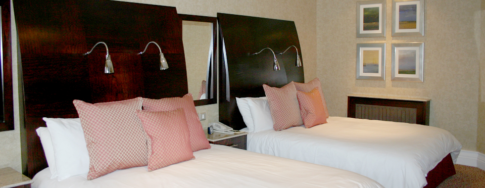Bedroom design, build and installation for Killarney Park Hotel, Ireland