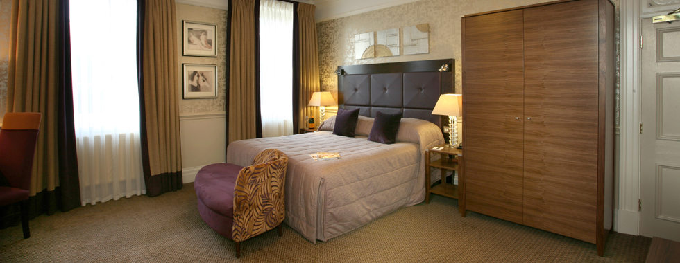 Bedroom furniture constructed and installed for Norton Park Hotel, Winchester